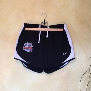 Nike Tempo running shorts with undershorts